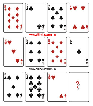 Playing Cards Puzzles With Solution